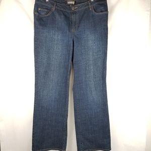 Venezia Stretch Bootcut Jeans Women's Plus 18/20